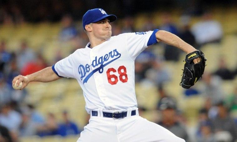 USP MLB: ARIZONA DIAMONDBACKS AT LOS ANGELES DODGE S [BBA OR BBN] USA CA