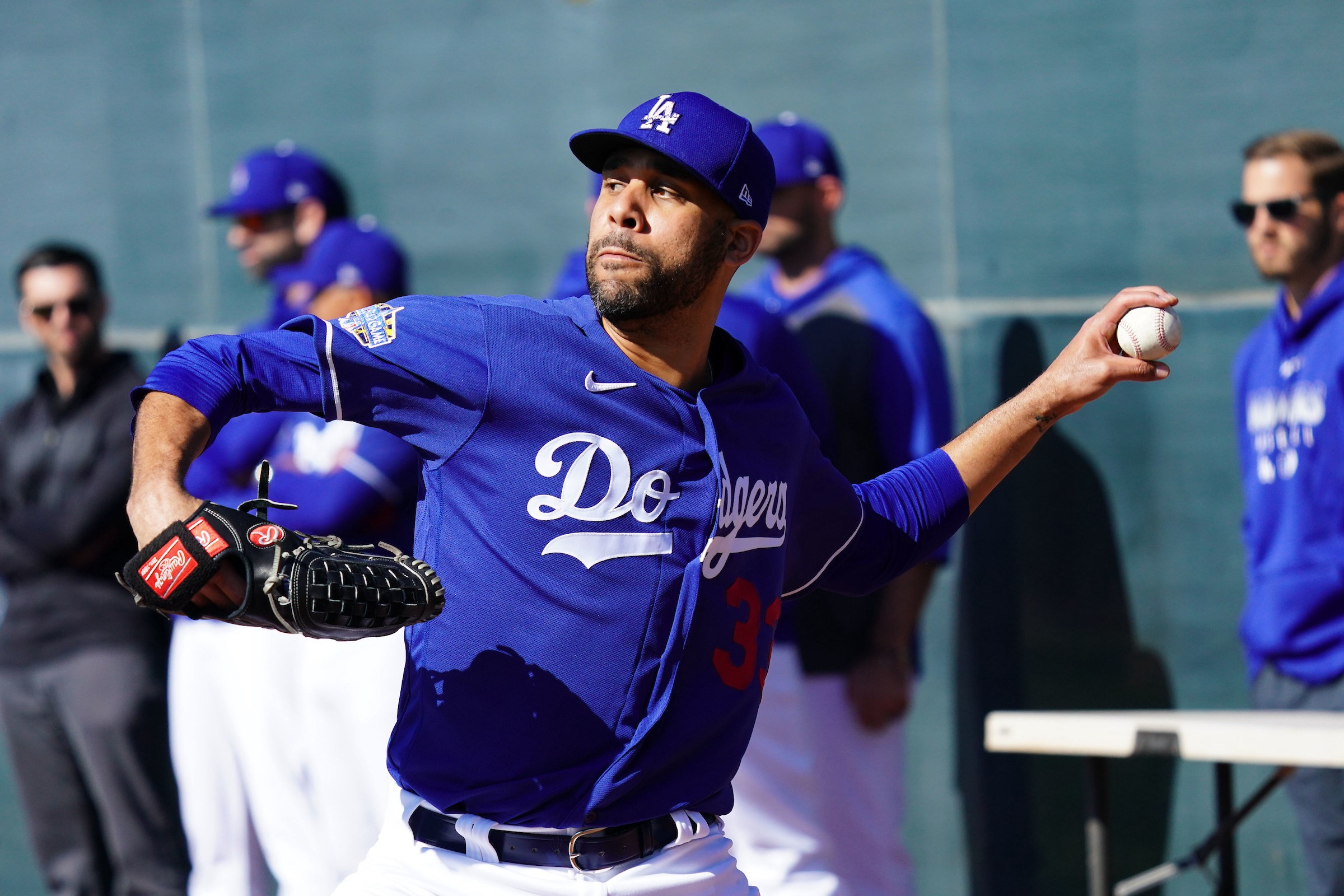 Dodgers Work Out at Dodger Stadium, David Price Donates to Minor ...